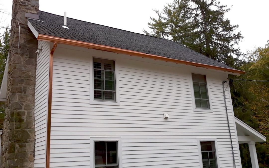 Copper Gutter Installation in Weston CT