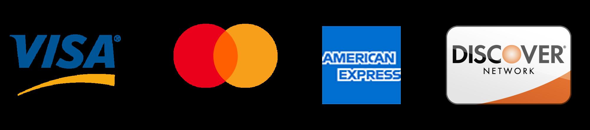 Gutter Bros LLC accepts most major credit cards